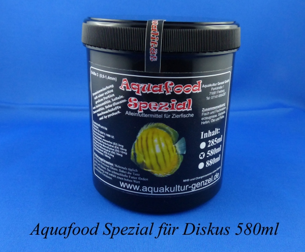 Aquafood Diskus Color Premium 580ml